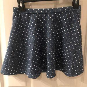Girl's ABERCROMBIE Kids 11/12 Skirt Polka Dots